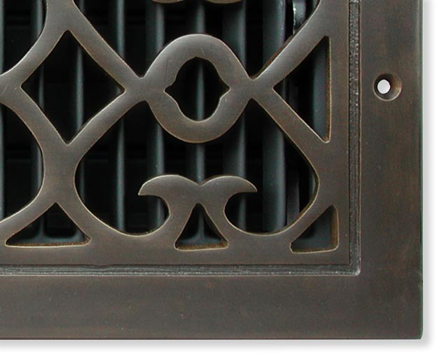 Bell Foundry Cold Air Return In Oil Rubbed Bronze